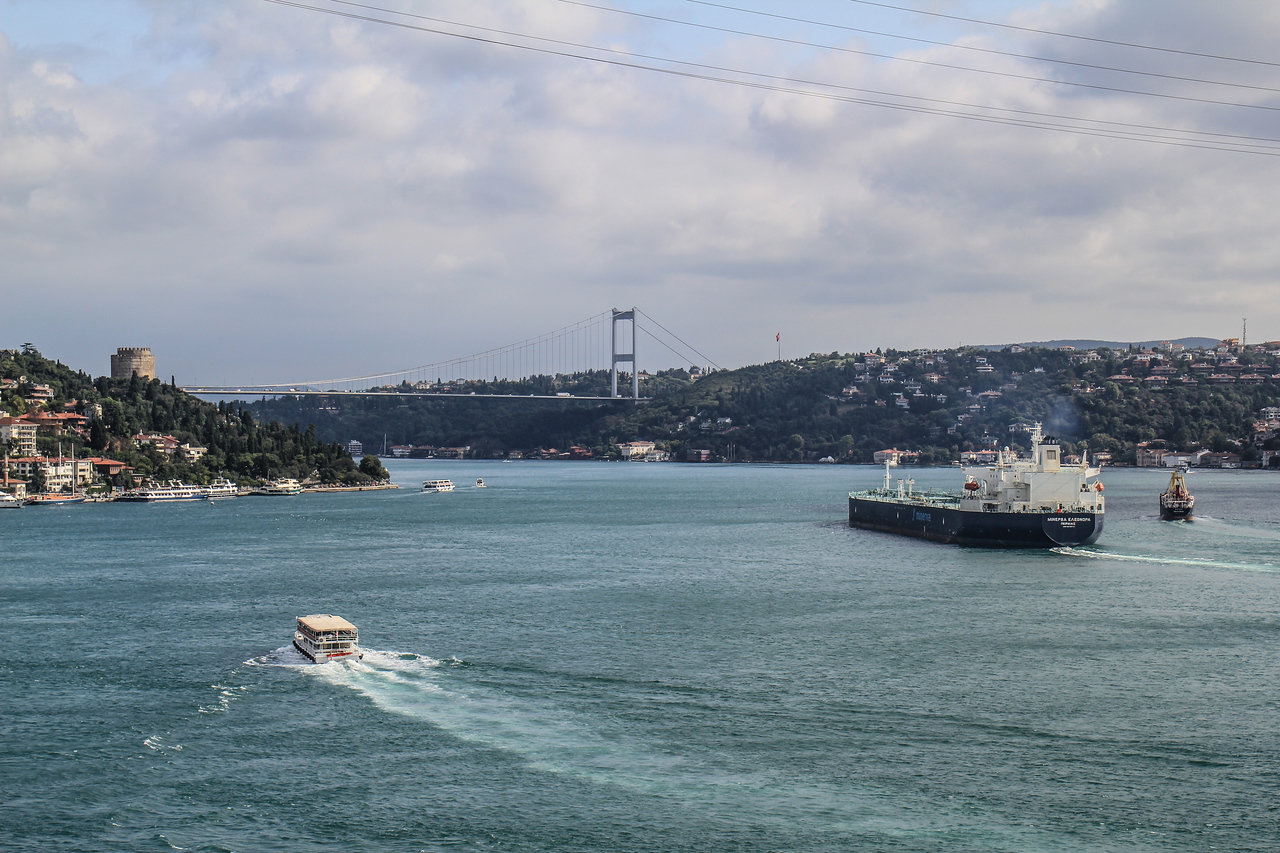 The Bosphorus from CGR