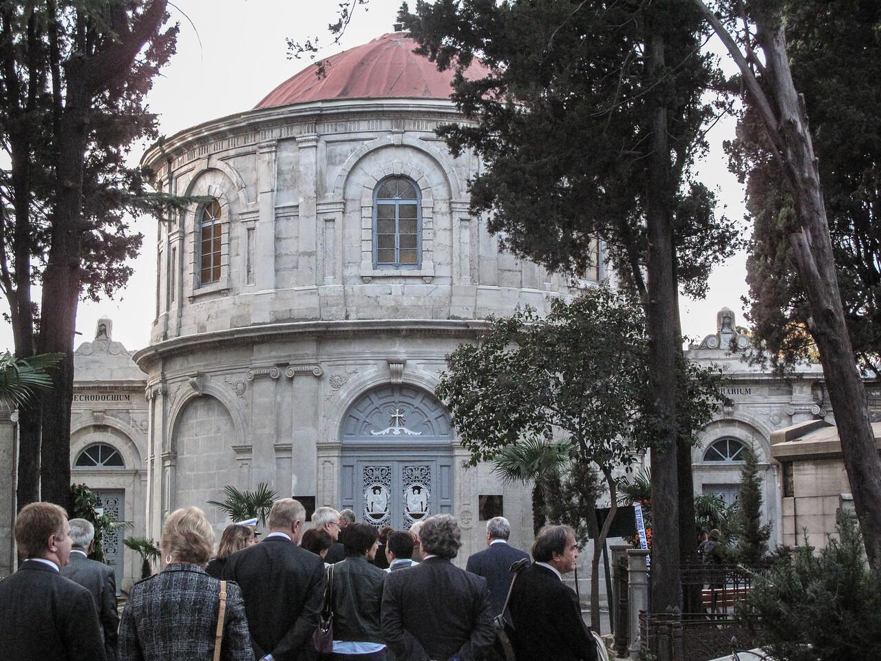 Armistice Day Ceremony - Catholic Cemetary (Feriköy)