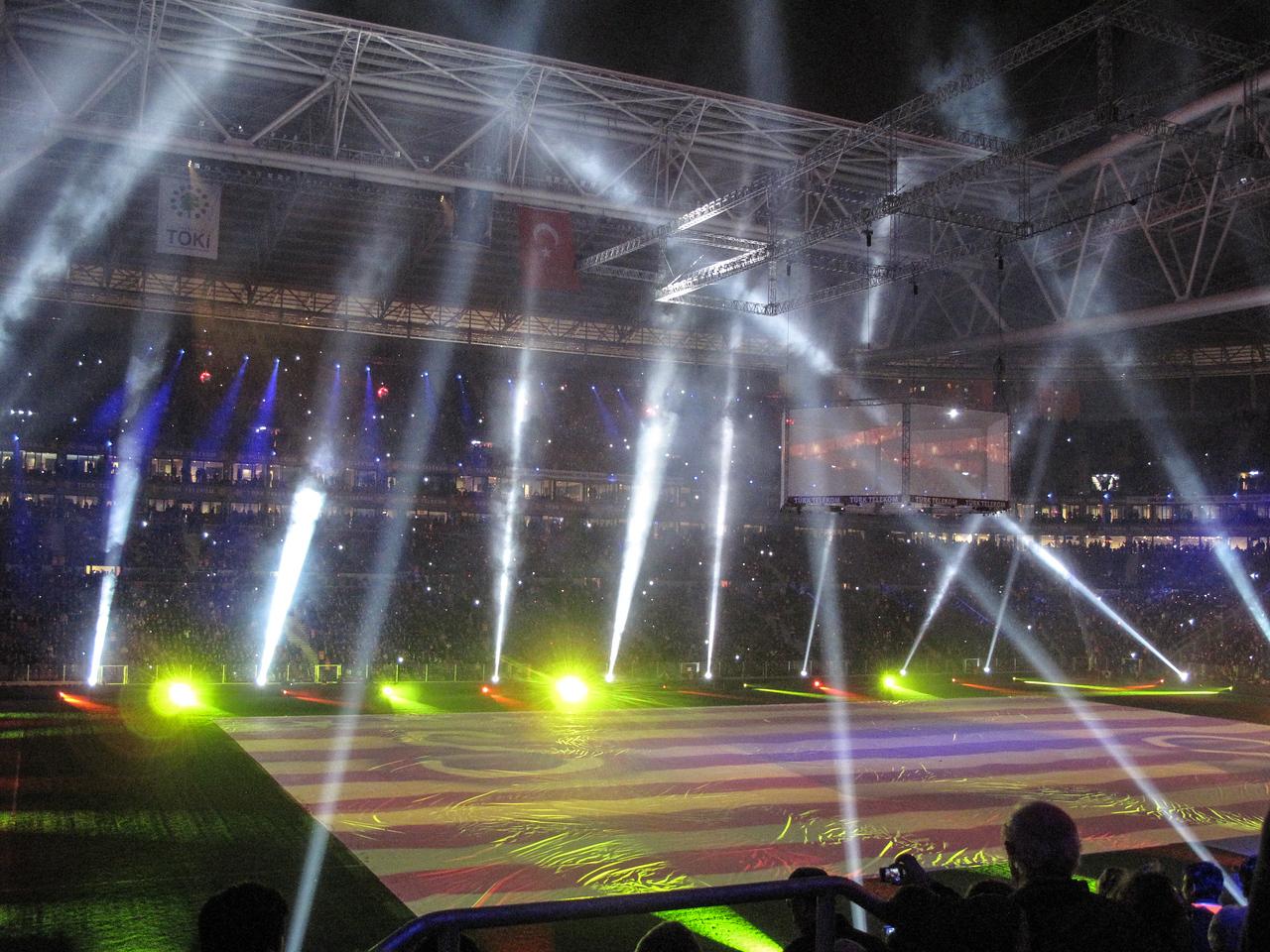 Inauguration of New Galatasaray Stadium