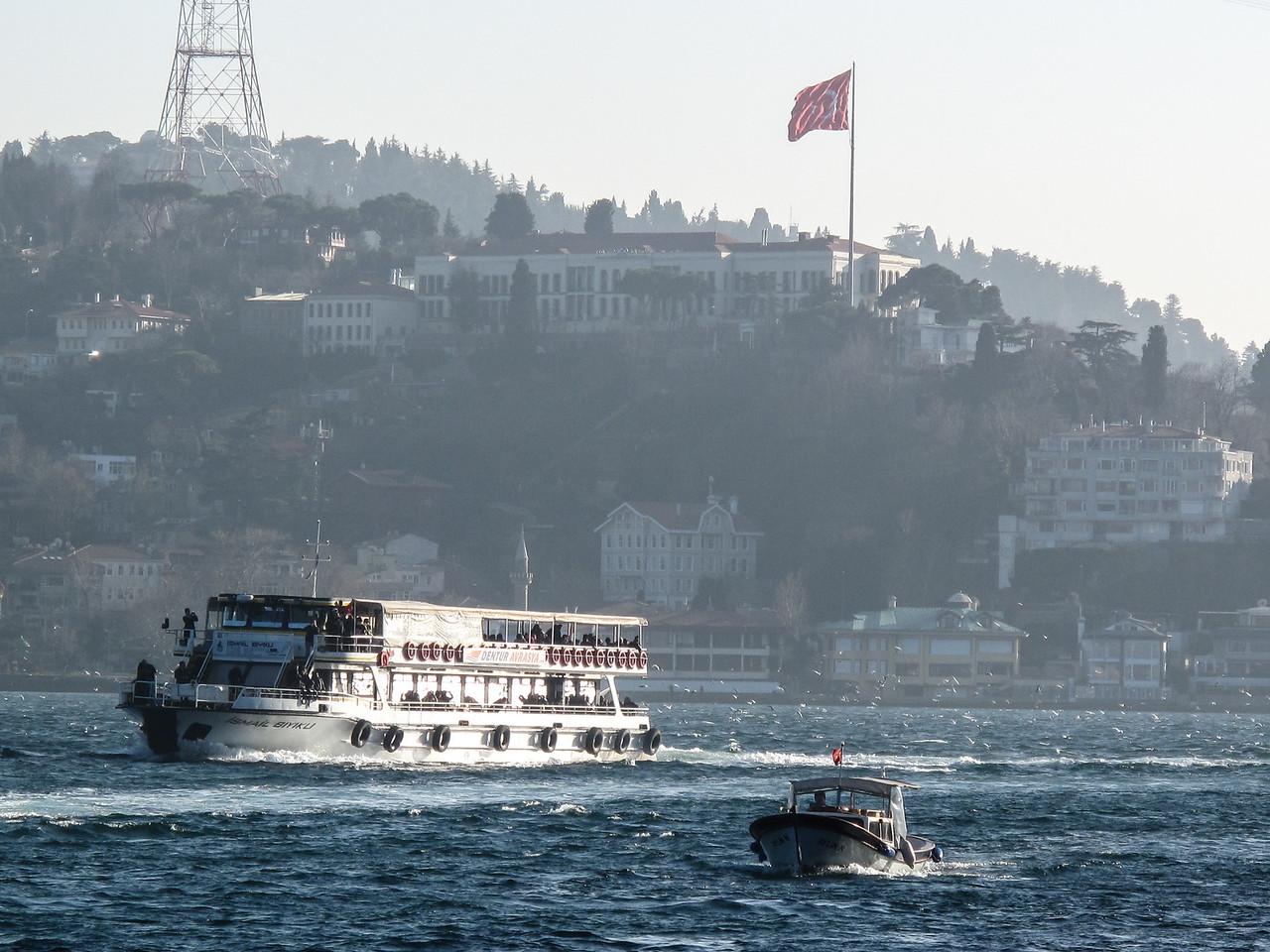 Bosphorus at Rumelihisarı