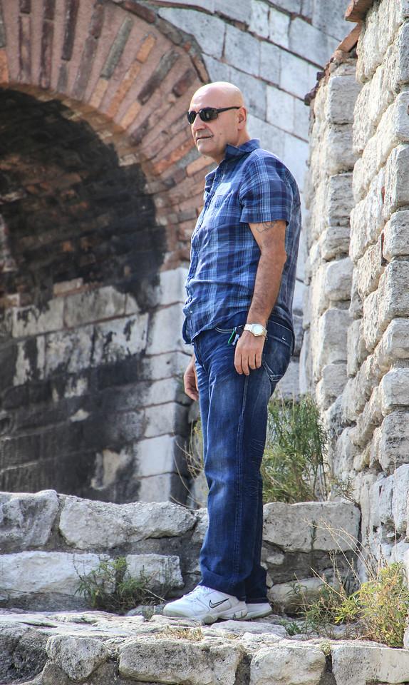 Erdogan at Yedi Kule
