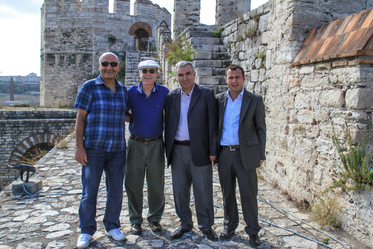 Erdogan, SK, Guards at Yedi Kule