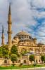 The Ottoman Sehazade Mosque in Istanbul, Turkey, Eurasia.