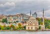 The Ottoman Ortakoy Mosque on the Bosphorus strait near Istanbul, Turkey, Eurasia.