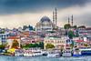 The Süleymaniye Mosque in Istanbul, Turkey, Eurasia.