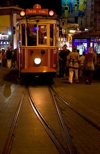 Istiklal Caddesi Trolley