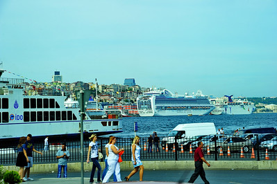 Cruise Ships in the Port of Istanbul