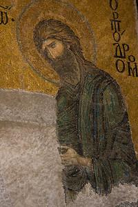 Hagia Sophia Mosaic (Deёsis Mosaic)
