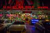 The Ali Baba VIP restaurant at night in Istanbul, Turkey, Eurasia.
