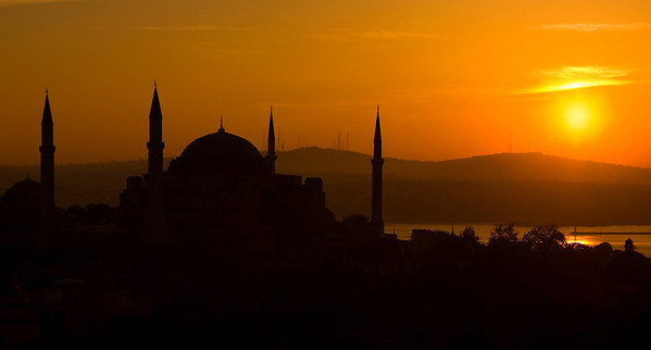 Hagia Sophia at Sunrise