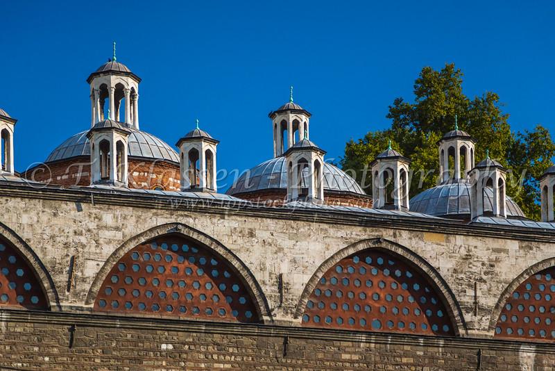 Building architecture in Istanbul, Turkey, Eurasia.