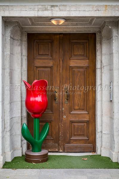 A wooden doorway in Sultanahmet, Istanbul, Turkey, Eurasia.