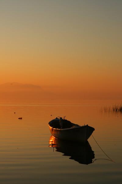 Boat, Lake İznik, Çakırca, Turkey