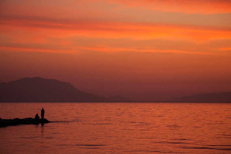 Fiery inspiration, Lake Iznik, Iznik, Turkey