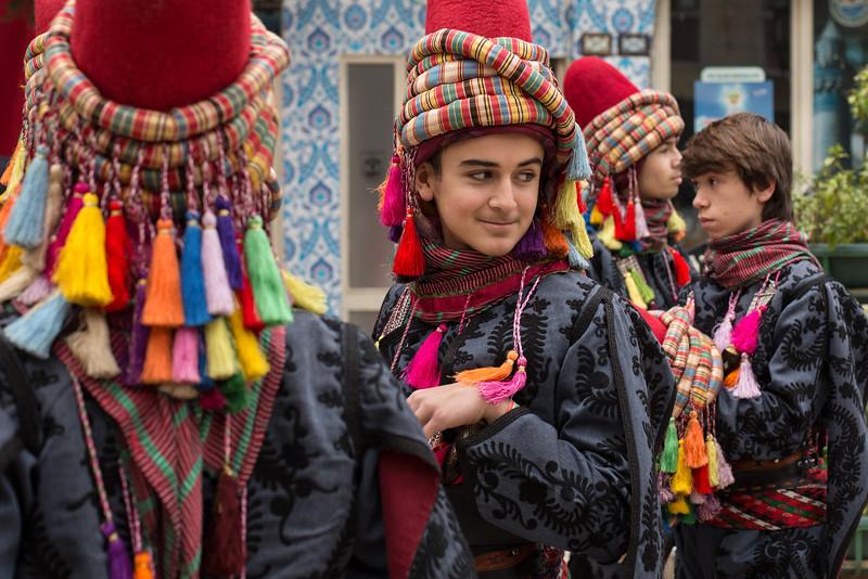 Dancers, Iznik, Turkey