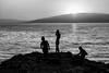Sunset bathing, Iznik