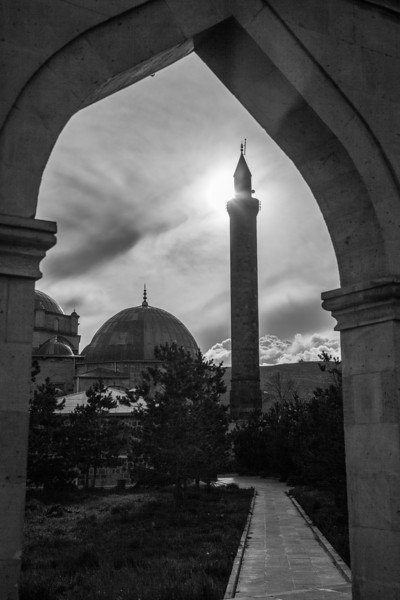 In the arch, Kars, Turkey