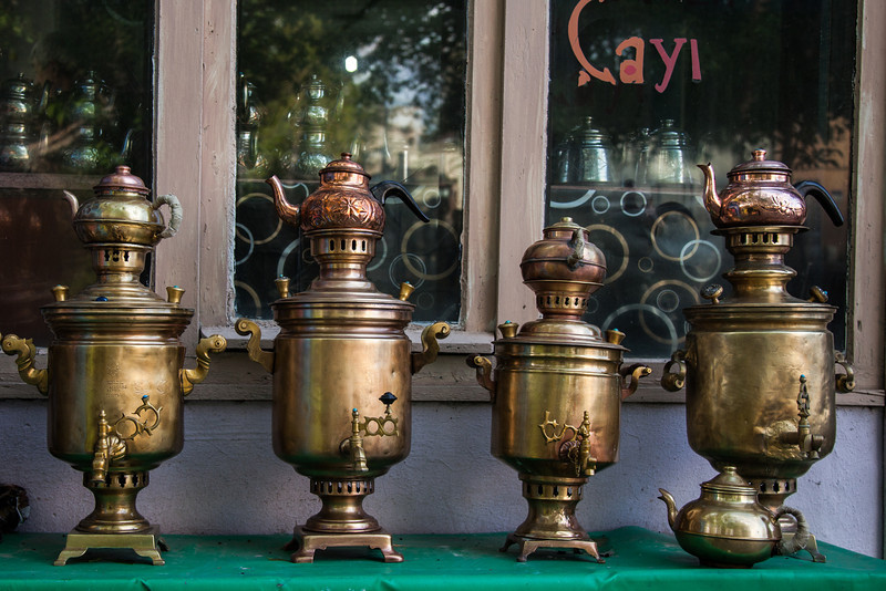 Samovars, Kars, Turkey