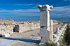 The ruins in the well preserved remains of Laodicea on the Lycus River in Turkey, Eurasia.