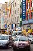 Street activity in the port city of Mersin, Turkey, Eurasia.