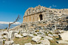 The restored ruins of the ancient city of Miletus, Turkey, Eurasia.
