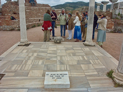 The tomb of St. John near Ephesus