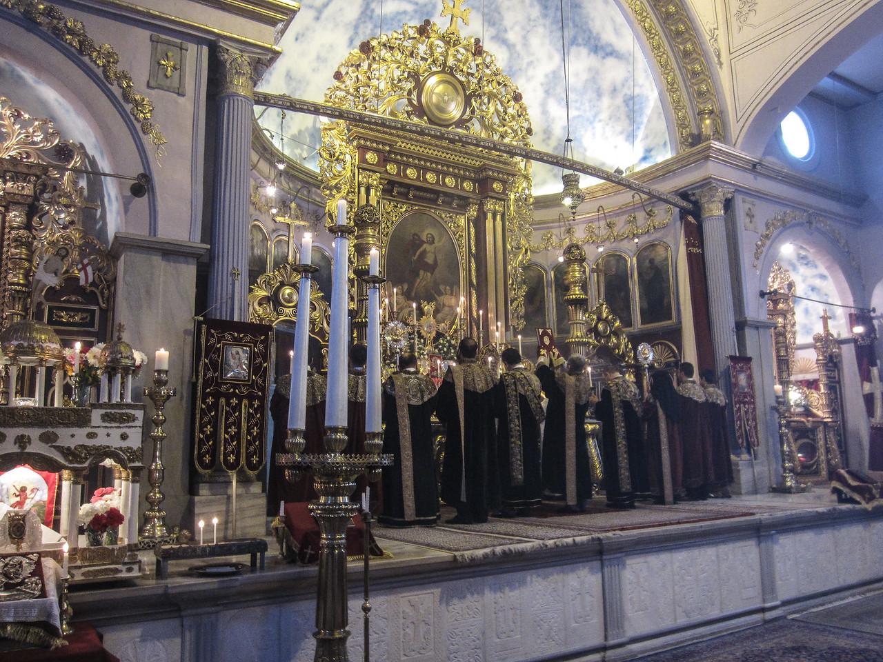 Easter Service at Armenian Patriarchal Church (Kumkapı, 2013)