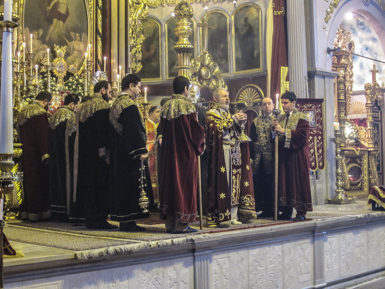Easter Service at Armenian Patriarchal Church (Kumkapı, 2013)