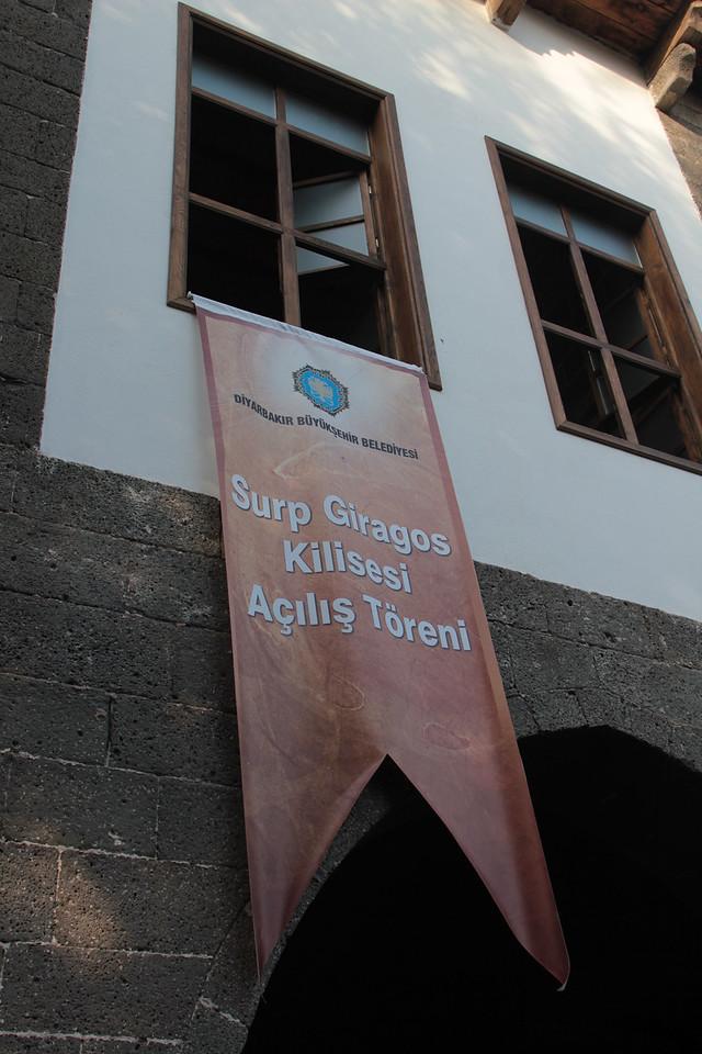 Sourp Giragos Reopening (Oct 2011)