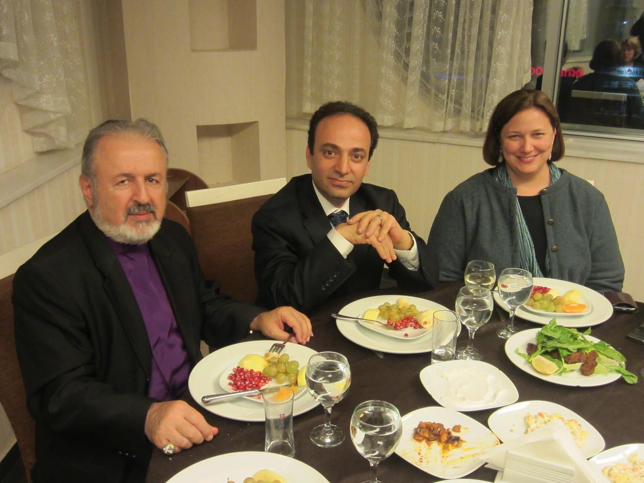 Acting Patriarch Ateşyan, Diyarbakir Mayor Osman Baydemir, Adana Consul Daria Darnell