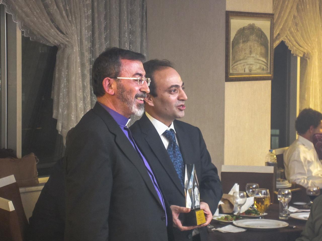 Archbishop Barsamian and Diyarbakır Mayor Baydemir