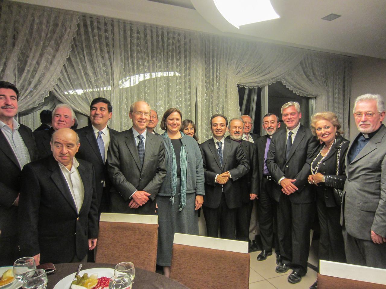Diyarbakır Mayor's Dinner iho Armenian-American Delegation