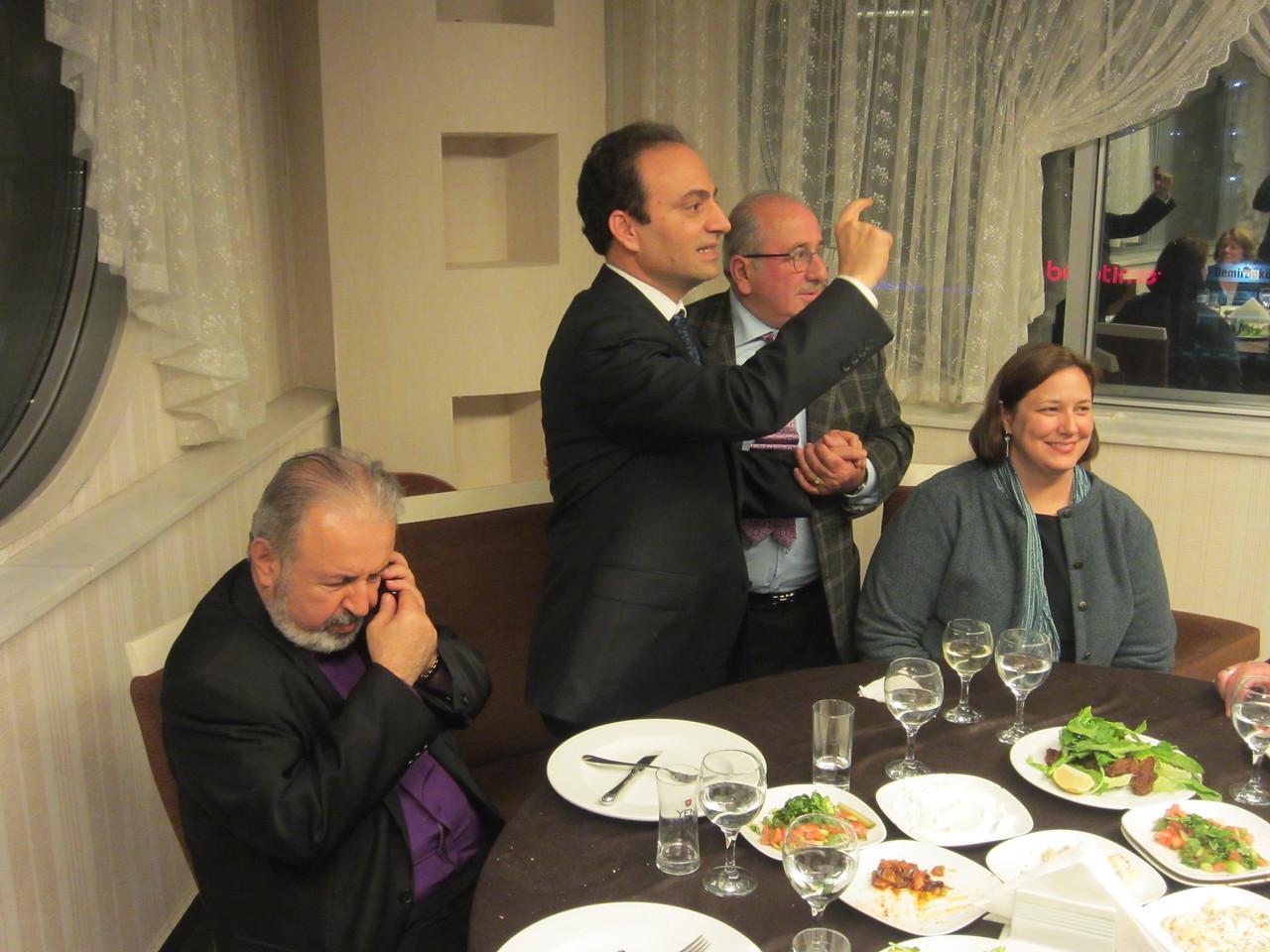Acting Patriarch Ateşyan, Mayor Baydemir, Adana Consul Darnell