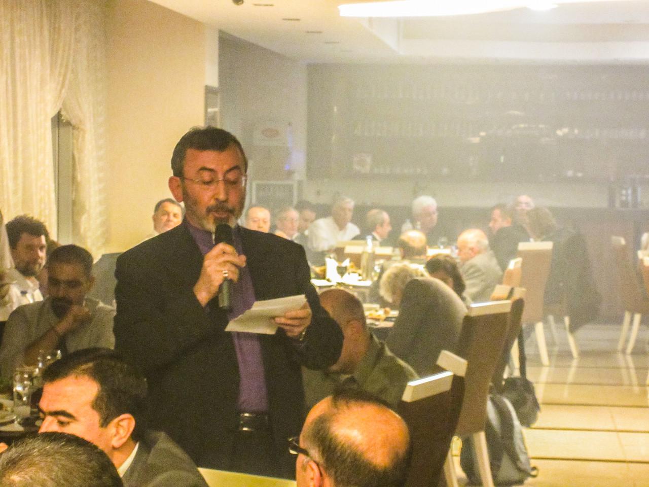 Archbishop Khajag Barsamian's Remarks at Mayor's Dinner