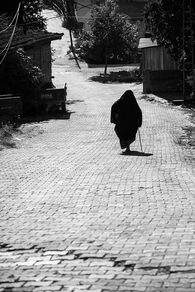 Solo walker, Tacir, Turkey