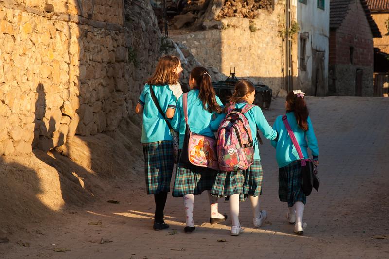 School girls, Tacir, Turkey