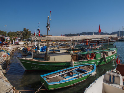 Seaside village Ucagiz. Photo: Martin Bager.