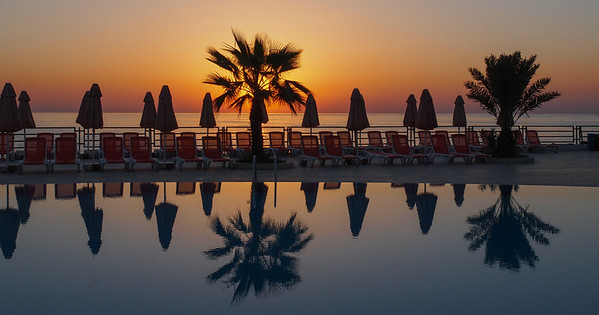 Sun in Turkey. Photo: Martin Bager