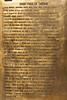 A plaque with inscription describing Saint Paul's time in Tarsus, Belediyesi, Turkey, Asia Minor.