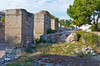 The excavated ruins of the former city of Thyatira now the city of Akhisar, Turkey, Asia Minor.