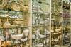Interior display at a china shop in Trabzon, Turkey.