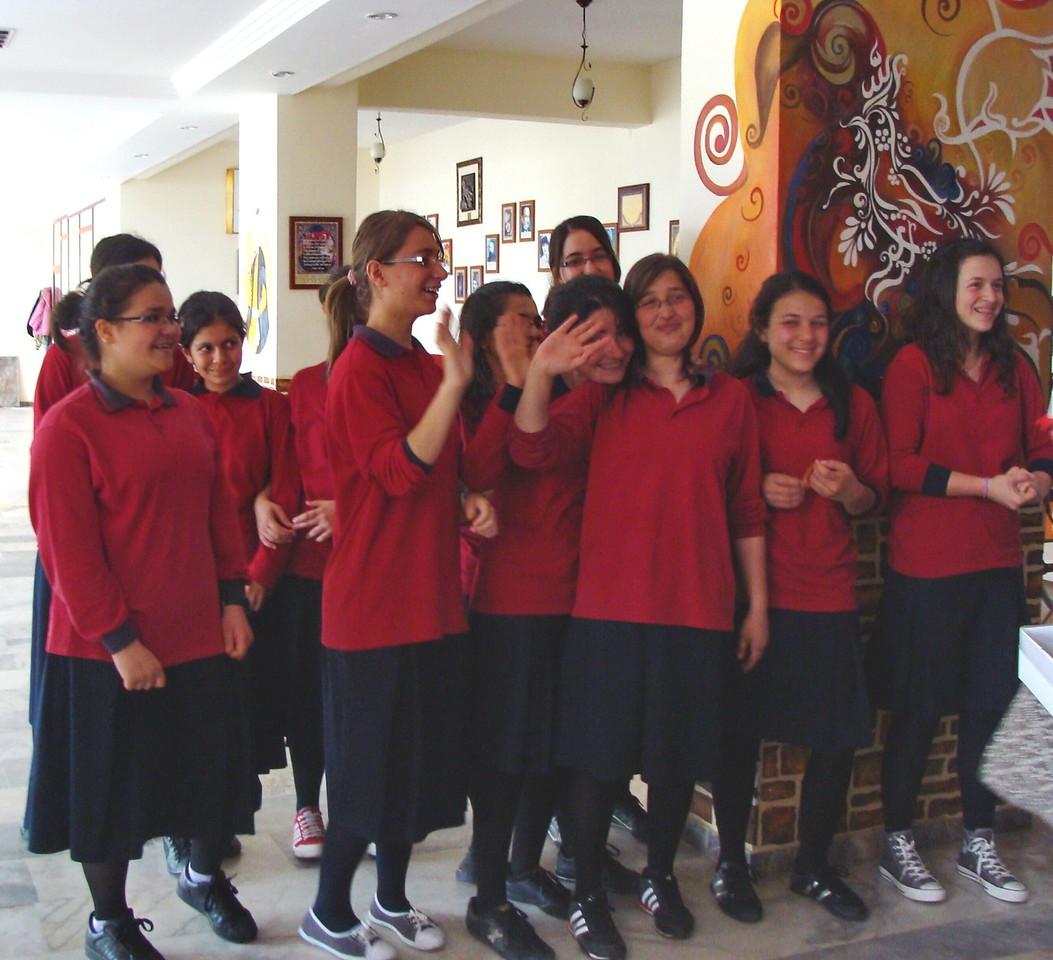 Girls High School Welcoming Group