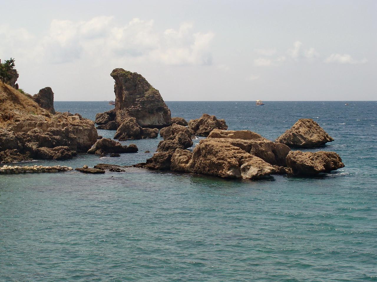Antalya Shoreline near the Beach
