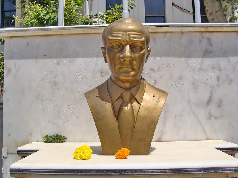 Bust of Ataturk