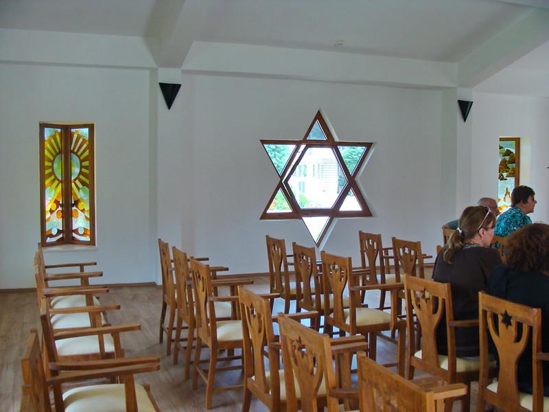 Garden of Tolerance Synagogue Interior