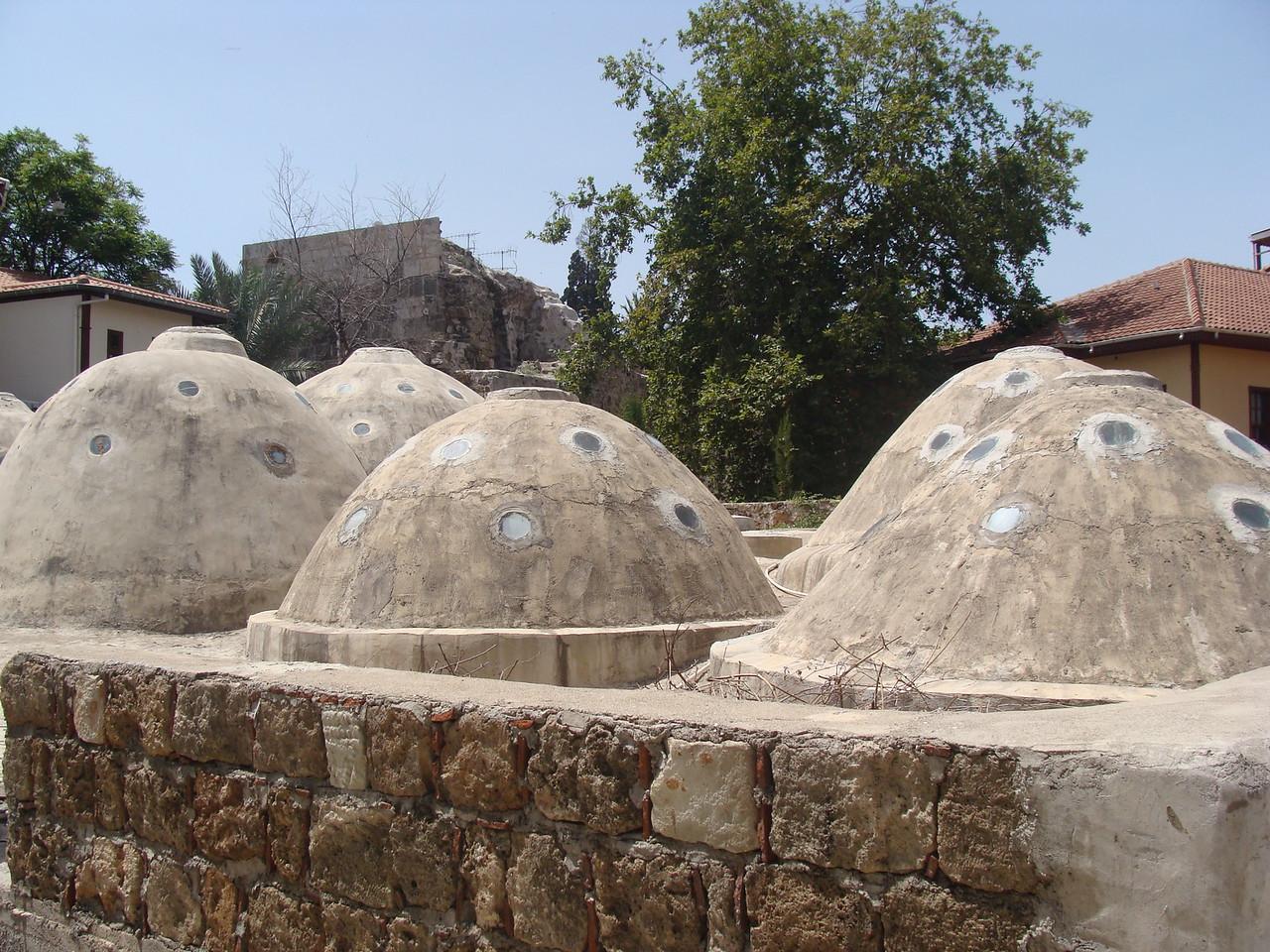 Turkish Bath Rooftops