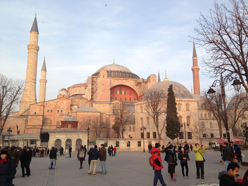 Hagia Sofia, completed 537 A.D.