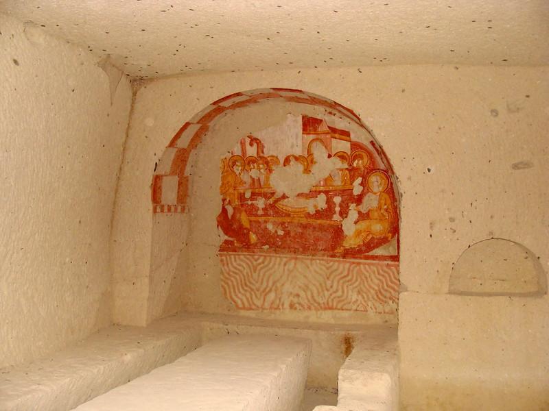 Interior Room with a Fresco