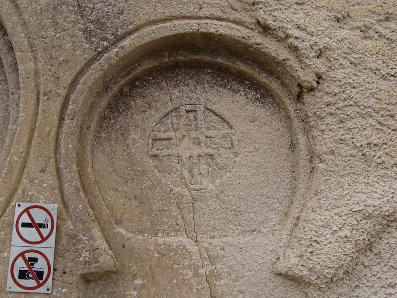 Dwelling Cross Carving
