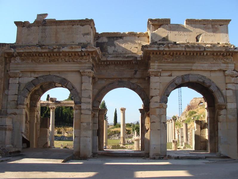 Library of Celsus Side Entrance